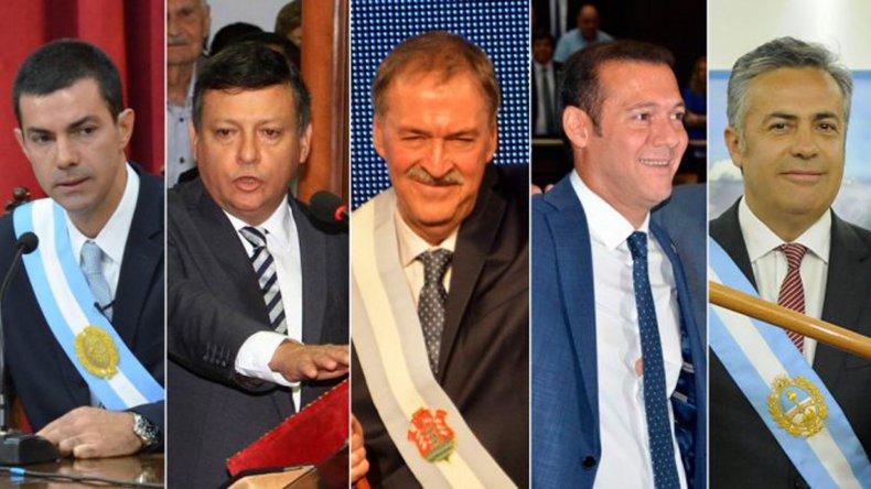 Varias provincias renovaron sus mandatarios.