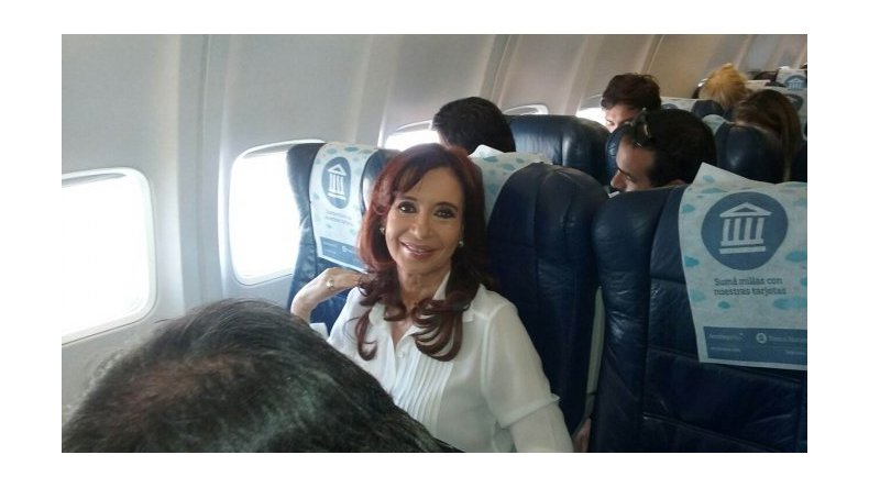Cristina Kirchner: no pude ver nada de la asunción de Macri