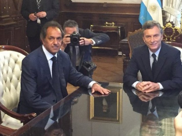Scioli: creo en las explicaciones que dio Macri