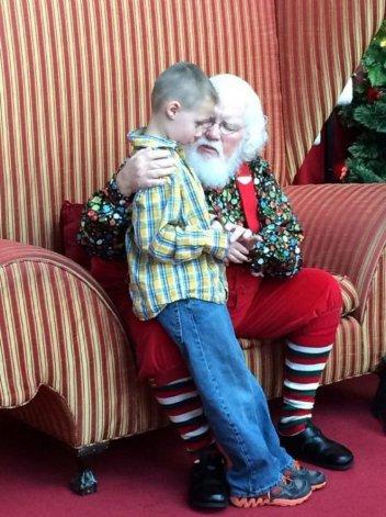 El mensaje de Papá Noel a un nene con autismo