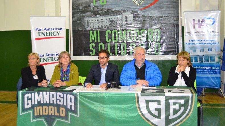 Se presentaron las últimas dos jornadas de Comodoro Solidario