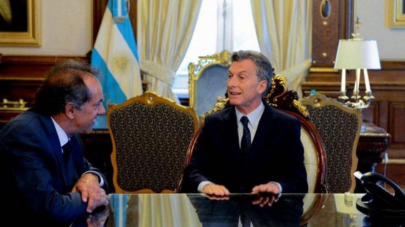 Macri le pidió a Scioli que lo acompañe a buscar inversores