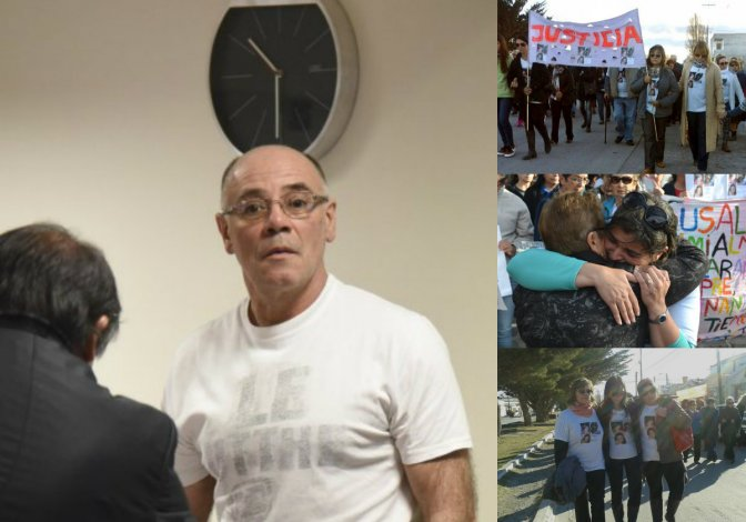 Claudio Lamonega, culpable del triple crimen