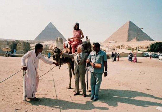 Kodama desempolva los recuerdos de Borges en Egipto.