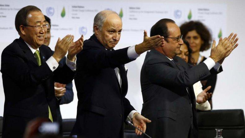 La cumbre de París cerró un acuerdo histórico por el cambio climático.