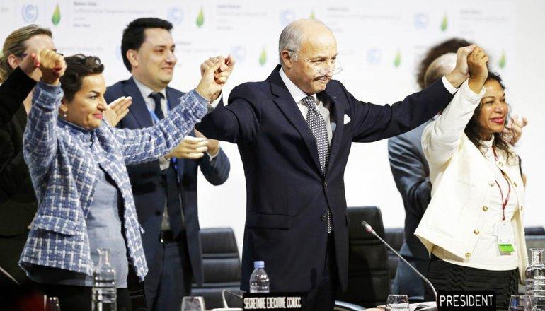 El acuerdo de París fue considerado un hito en la lucha contra el cambio climático