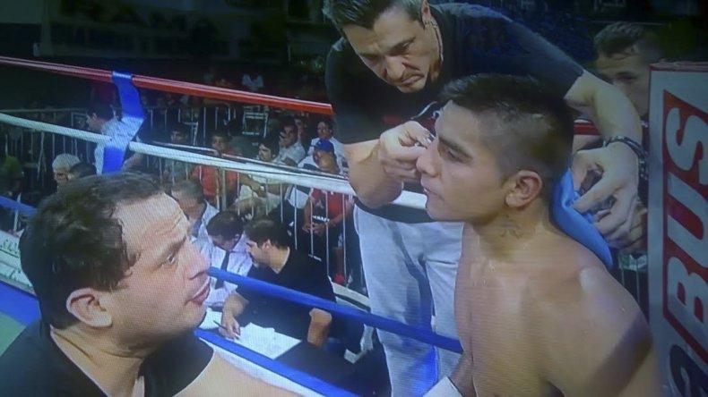 Sebastián Aguirre no pudo contrarrestar los embates de Horacio Cabral y perdió por puntos.