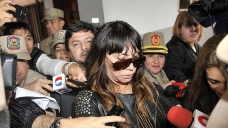 Moria Casán ya está en Argentina