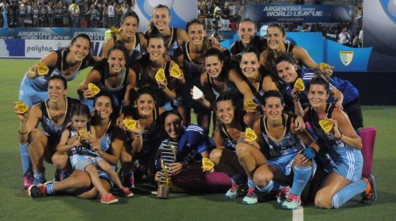 Las Leonas Campeonas.