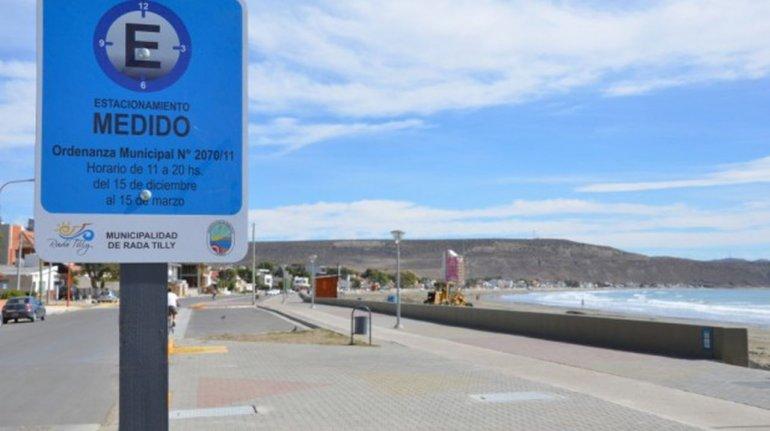 Mañana entrará en vigencia el estacionamiento medido en Rada Tilly