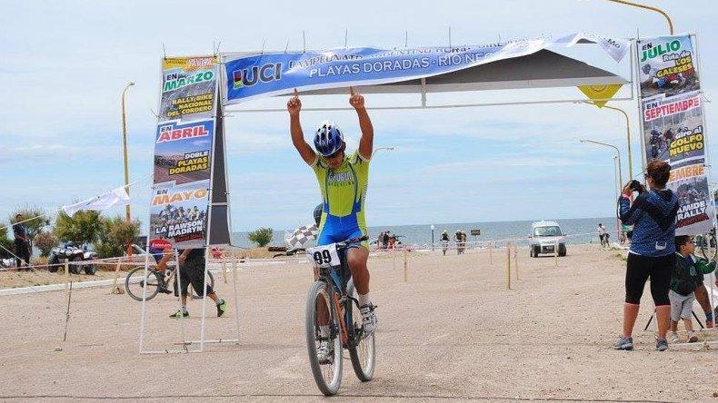 Oro y Plata para chubutenses en el argentino de Mountain Bike