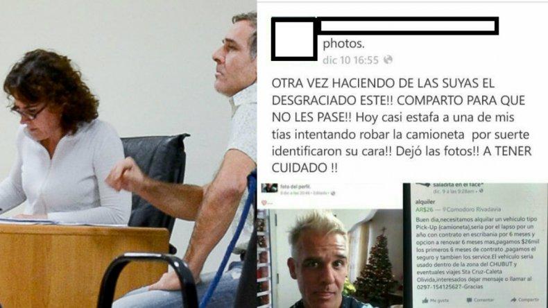 Denuncian otro intento de estafa por parte de Chatrán Hernández