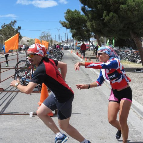Las pruebas combinadas se trasladaron a Caleta Córdova y vivieron una fiesta el domingo último.