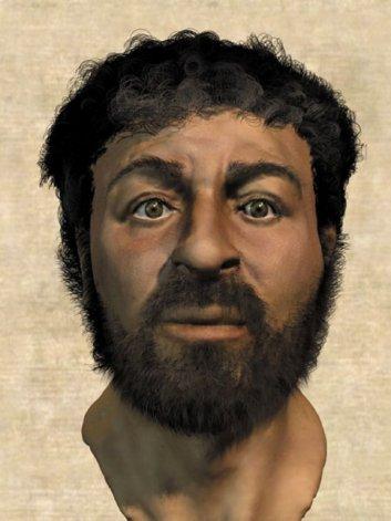 La cara de Jesús ¿es ésta?