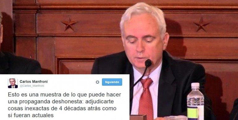 Luego de la carta de Charly, Manfroni no será funcionario de Macri