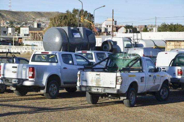 Un escándalo judicial de imprevisibles derivaciones comenzó a registrarse en Caleta Olivia por el embargo de vehículos que pertenecen a la flota del municipio.