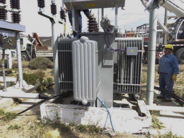 Las tareas eléctricas que desarrolla la SCPL para repotenciar los acuíferos.