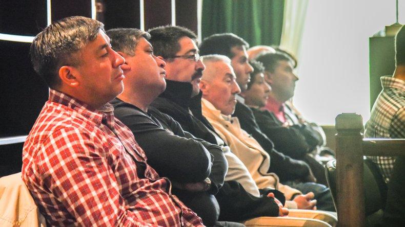 Juicio por la desaparición de Iván Torres. Foto: Mauricio Macretti / El Patagónico.