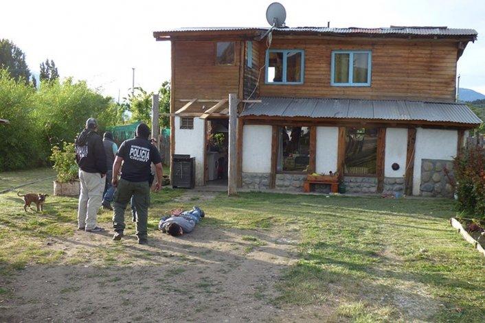 Allanamientos en Cholila: un detenido y marihuana secuestrada