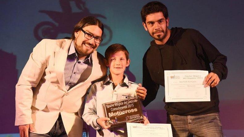 El campeón argentino de Mini Cross