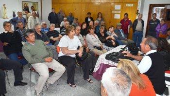Con gran acompañamiento, la Comisión de Ex Agentes Autoconvocados de YPF Línea Catedral realizó su última reunión informativa.