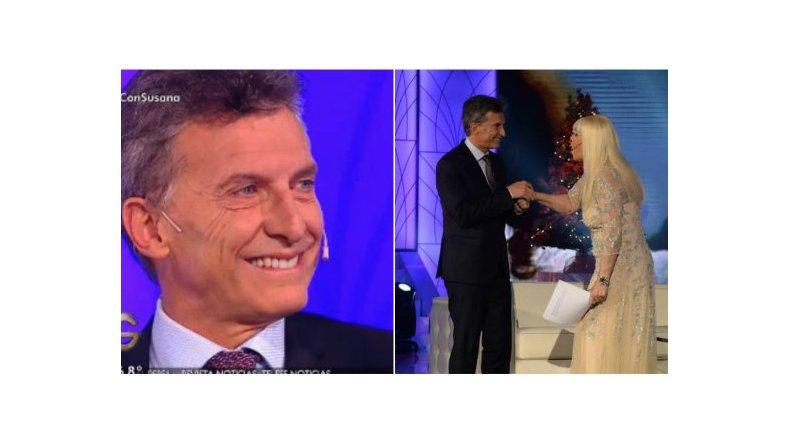 Mauricio Macri habló de todo con Susana
