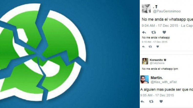 Reportan problemas para utilizar Whatsapp en Argentina