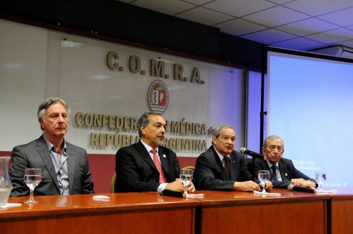 El ministro de Salud de la Nación Jorge Lemus brindó una charla sobre los lineamientos de su gestión.