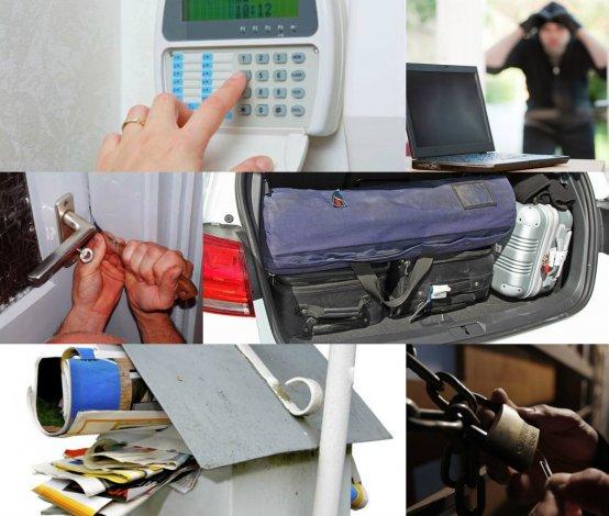Cómo prevenir robos y daños cuando las casas quedan solas