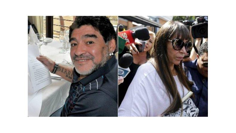 Diego Maradona visitará a Moria Casán en la cárcel