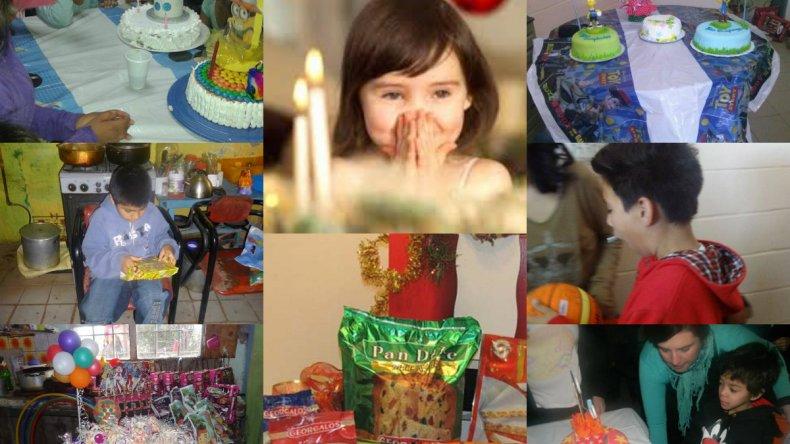 Buscan que las familias de 70 niños tengan su canasta de navidad
