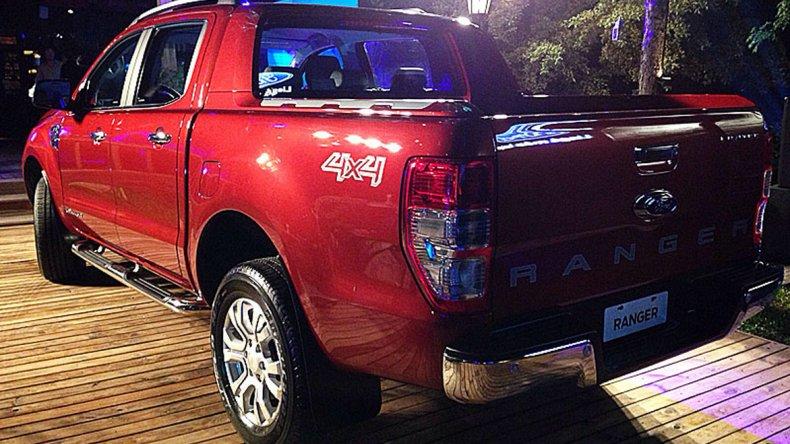 Ford exhibió por primera vez la nueva Ranger