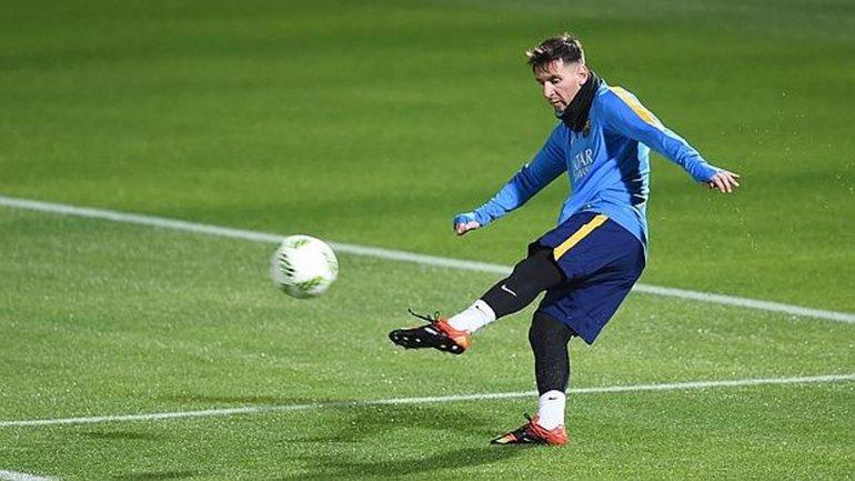Leo Messi estaría para la final