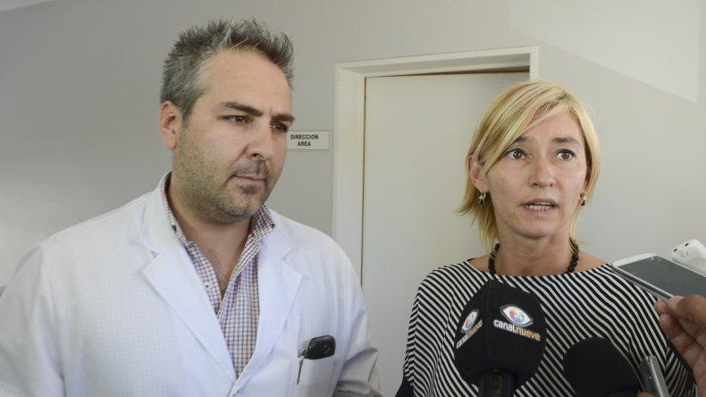 Mariana Fernández y Gustavo Guerrero fijaron prioridades para el trabajo en el área a partir de sus designaciones.