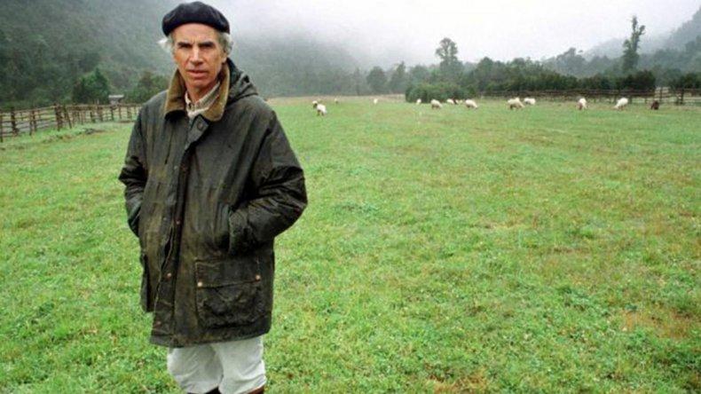 De joven Tompkins arribó a la Patagonia