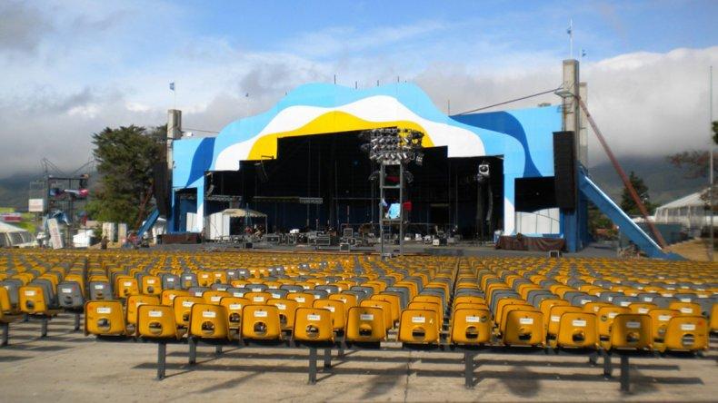 El escenario de este festival