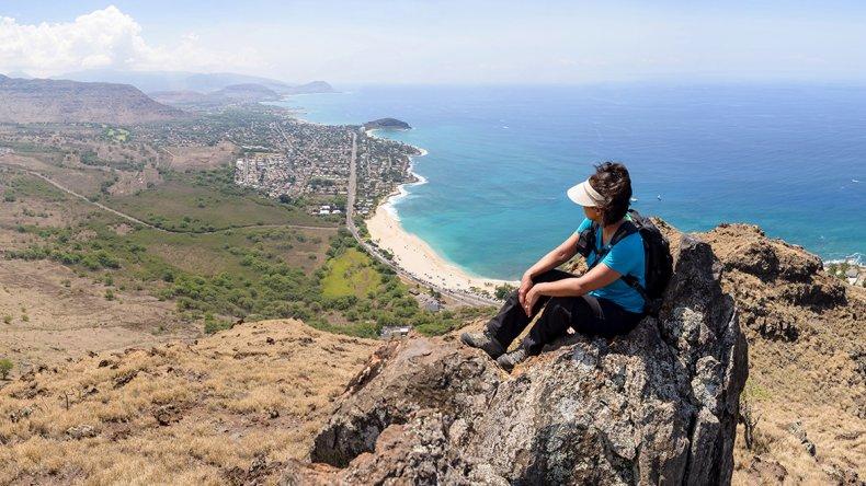 La playa Makaha es una de las preferidas por los turistas.