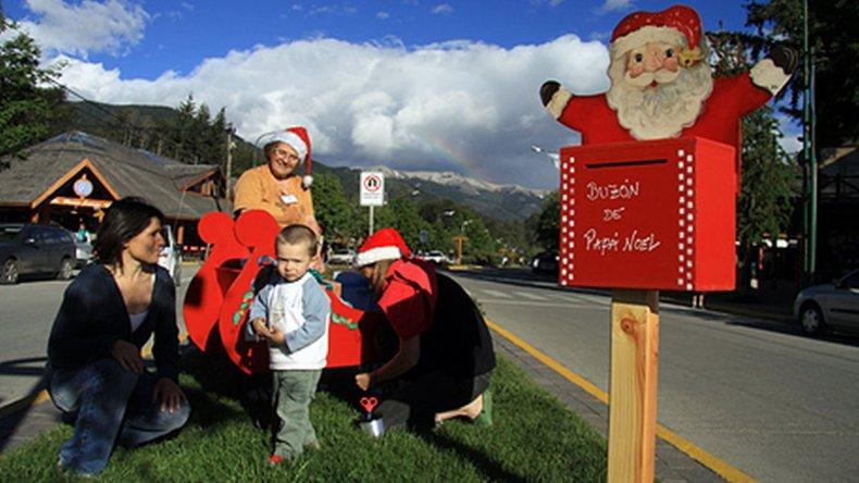La cordillera año a año pone especial énfasis en las celebraciones navideñas para atraer a cada vez más familias.