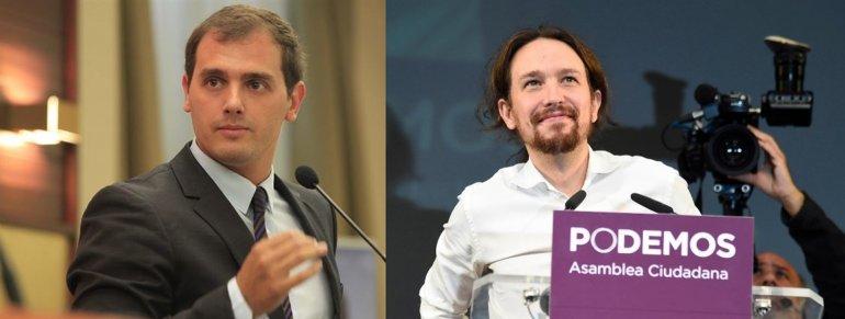 Rivera e Iglesias tienen serias chances de arrebatarle el poder a Rajoy.
