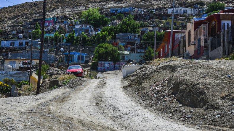El sector del barrio Pietrobelli donde se produjo la agresión.