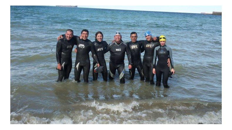 La Travesía de natación se realizará en horas de la mañana en la costanera Comandante Espora de Comodoro Rivadavia.