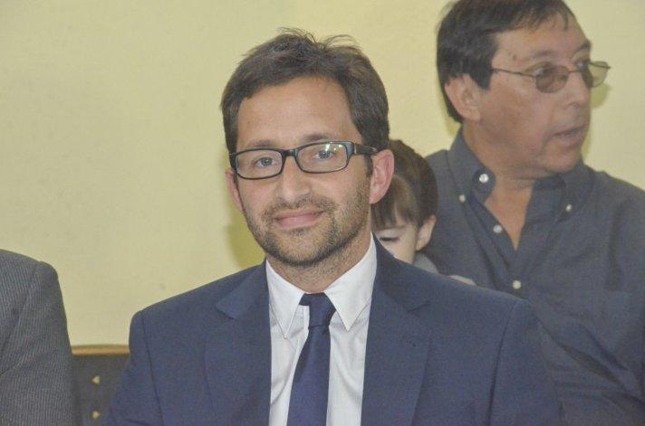 Germán Issa Pfister asumió el viernes como secretario municipal de Recaudación.