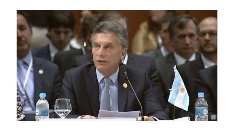 Macri pidió la liberación de los presos políticos en Venezuela