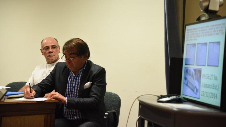 Claudio Lamonega prefirió no estar presente cuando se leyó el fallo unánime de los jueces.