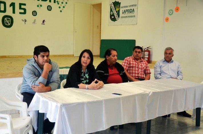 En conferencia de prensa fue presentado Carlos Rivas como nuevo DT de Laprida