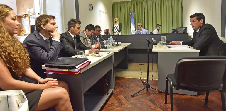 La audiencia celebrada ayer por la Justicia referente a la causa del préstamo a Alpesca.