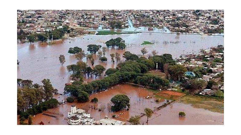 La inundación en Entre Ríos es la más grande de la historia