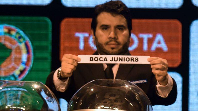Se sorteó la Copa Libertadores 2016