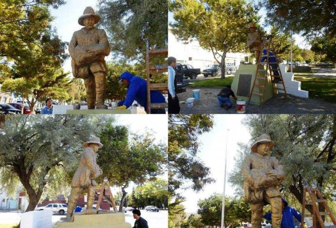 Restauraron el monumento a los Bomberos
