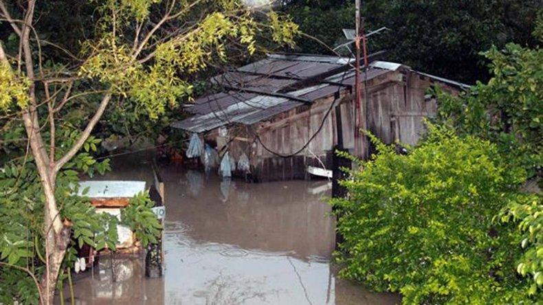 Se complica la situación en el Litoral por las lluvias.